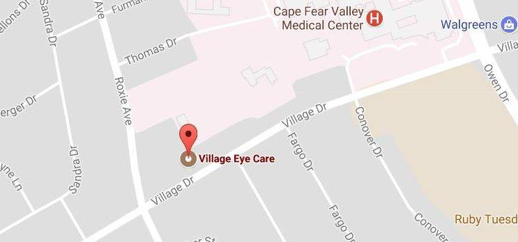 Village Eye Care is nearby, centrally located in Fayetteville, NC